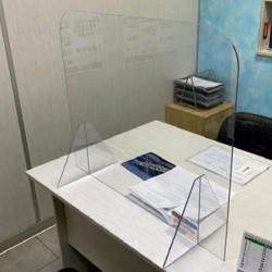 Barriere separatrice in Plexiglass