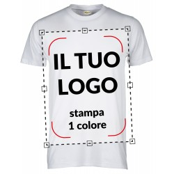 T-SHIRT ECO - STAMPA 1 COLORE