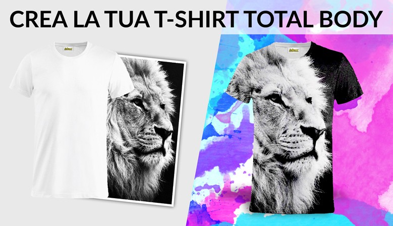 Crea la tua T-shirt TOTAL BODY